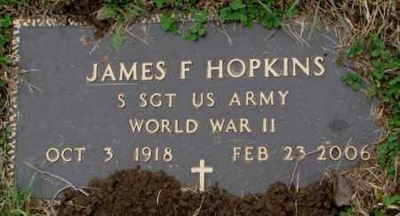 HOPKINS, JAMES F. - Burt County, Nebraska | JAMES F. HOPKINS - Nebraska Gravestone Photos