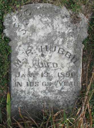 HUBBIL, M.R. - Burt County, Nebraska | M.R. HUBBIL - Nebraska Gravestone Photos