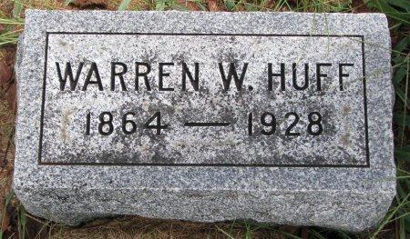 HUFF, WARREN W. - Burt County, Nebraska   WARREN W. HUFF - Nebraska Gravestone Photos