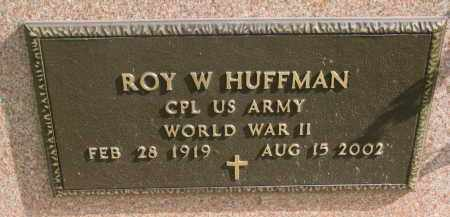 HUFFMAN, ROY W. (WW II) - Burt County, Nebraska | ROY W. (WW II) HUFFMAN - Nebraska Gravestone Photos