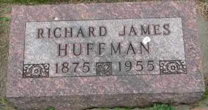 HUFFMAN, RICHARD JAMES - Burt County, Nebraska | RICHARD JAMES HUFFMAN - Nebraska Gravestone Photos