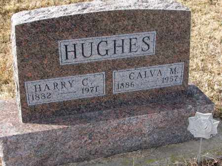 HUGHES, CALVA M. - Burt County, Nebraska | CALVA M. HUGHES - Nebraska Gravestone Photos
