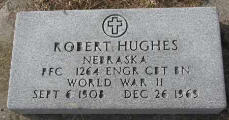 HUGHES, ROBERT (WW II) - Burt County, Nebraska | ROBERT (WW II) HUGHES - Nebraska Gravestone Photos