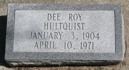 HULTQUIST, DEE ROY - Burt County, Nebraska | DEE ROY HULTQUIST - Nebraska Gravestone Photos