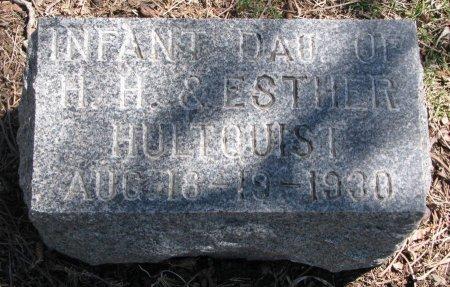 HULTQUIST, INFANT DAUGHTER - Burt County, Nebraska   INFANT DAUGHTER HULTQUIST - Nebraska Gravestone Photos