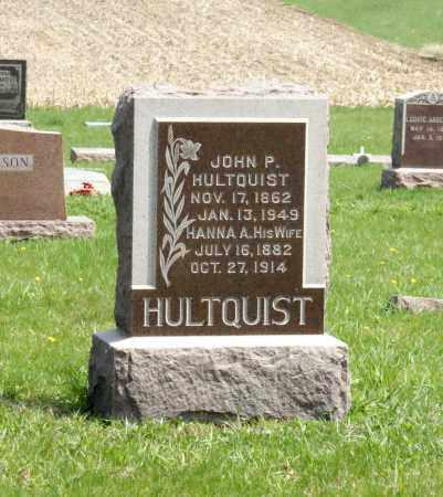 HULTQUIST, HANNA A. - Burt County, Nebraska   HANNA A. HULTQUIST - Nebraska Gravestone Photos