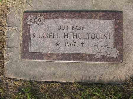 HULTQUIST, RUSSELL H. - Burt County, Nebraska   RUSSELL H. HULTQUIST - Nebraska Gravestone Photos