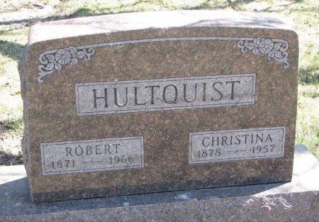 HULTQUIST, CHRISTINA - Burt County, Nebraska | CHRISTINA HULTQUIST - Nebraska Gravestone Photos