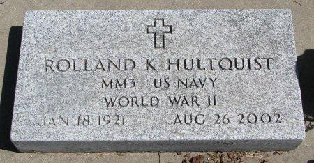 HULTQUIST, ROLLAND K. - Burt County, Nebraska | ROLLAND K. HULTQUIST - Nebraska Gravestone Photos