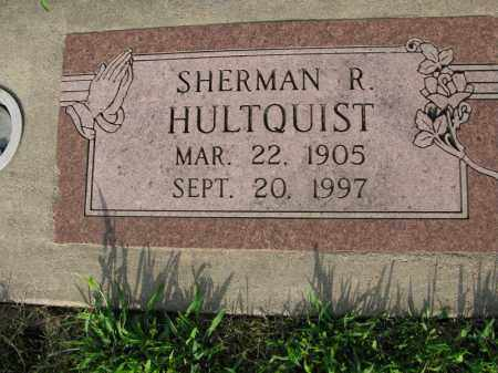 HULTQUIST, SHERMAN R. - Burt County, Nebraska | SHERMAN R. HULTQUIST - Nebraska Gravestone Photos