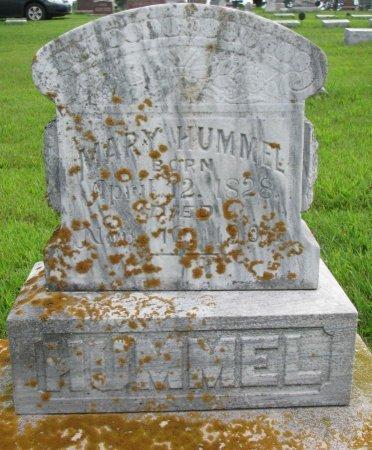 HUMMEL, MARY - Burt County, Nebraska | MARY HUMMEL - Nebraska Gravestone Photos