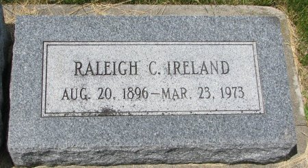 IRELAND, RALEIGH C. - Burt County, Nebraska   RALEIGH C. IRELAND - Nebraska Gravestone Photos