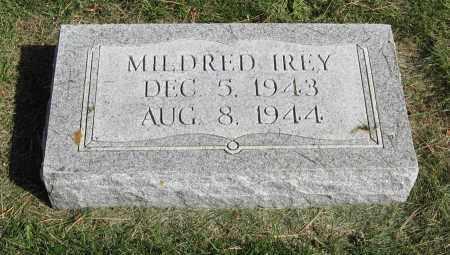 IREY, MILDRED - Burt County, Nebraska | MILDRED IREY - Nebraska Gravestone Photos