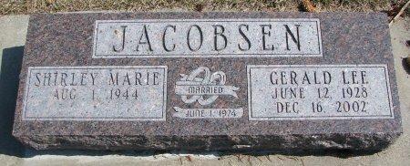 JACOBSEN, SHIRLEY MARIE - Burt County, Nebraska   SHIRLEY MARIE JACOBSEN - Nebraska Gravestone Photos