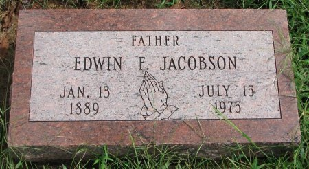 JACOBSON, EDWIN F. - Burt County, Nebraska | EDWIN F. JACOBSON - Nebraska Gravestone Photos
