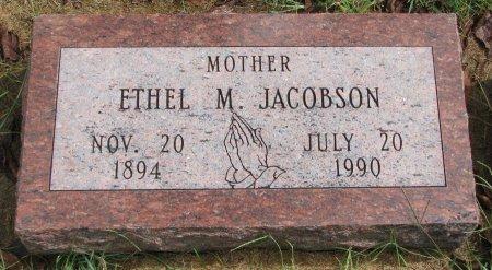 JACOBSON, ETHEL M. - Burt County, Nebraska   ETHEL M. JACOBSON - Nebraska Gravestone Photos