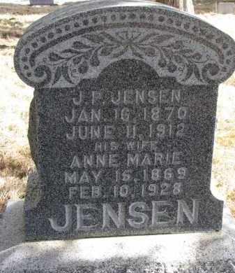 JENSEN, J.P. - Burt County, Nebraska   J.P. JENSEN - Nebraska Gravestone Photos