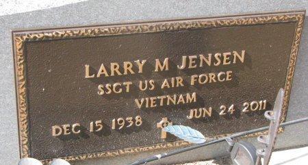 JENSEN, LARRY M. (MILITARY) - Burt County, Nebraska | LARRY M. (MILITARY) JENSEN - Nebraska Gravestone Photos