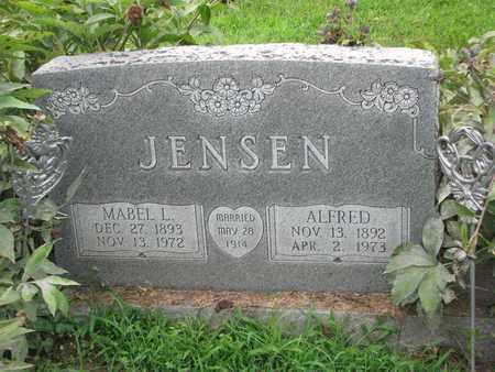 JENSEN, MABEL L. - Burt County, Nebraska | MABEL L. JENSEN - Nebraska Gravestone Photos