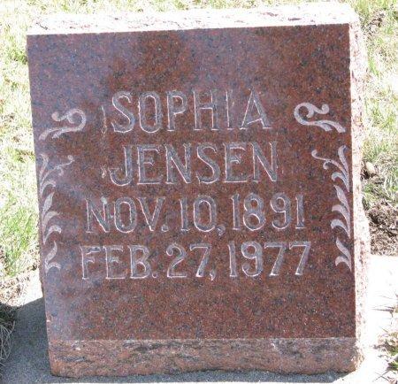 JENSEN, SOPHIA - Burt County, Nebraska | SOPHIA JENSEN - Nebraska Gravestone Photos