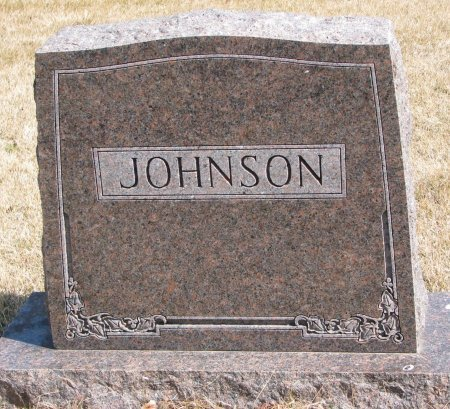 JOHNSON, *FAMILY MONUMENT - Burt County, Nebraska   *FAMILY MONUMENT JOHNSON - Nebraska Gravestone Photos