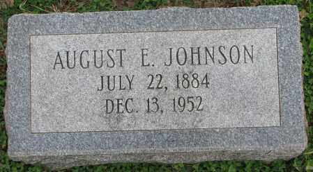 JOHNSON, AUGUST E. - Burt County, Nebraska | AUGUST E. JOHNSON - Nebraska Gravestone Photos