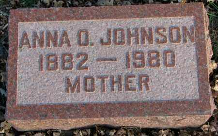 JOHNSON, ANNA O. - Burt County, Nebraska | ANNA O. JOHNSON - Nebraska Gravestone Photos