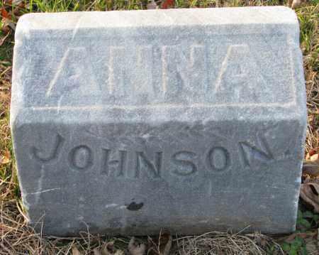 JOHNSON, ANNA - Burt County, Nebraska | ANNA JOHNSON - Nebraska Gravestone Photos