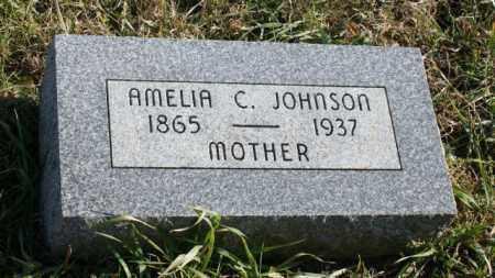 JOHNSON, AMELIA C. - Burt County, Nebraska | AMELIA C. JOHNSON - Nebraska Gravestone Photos