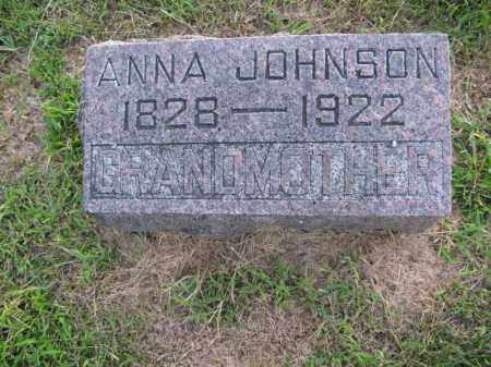 JOHNSON, ANNA - Burt County, Nebraska | ANNA JOHNSON - Nebraska Gravestone Photos