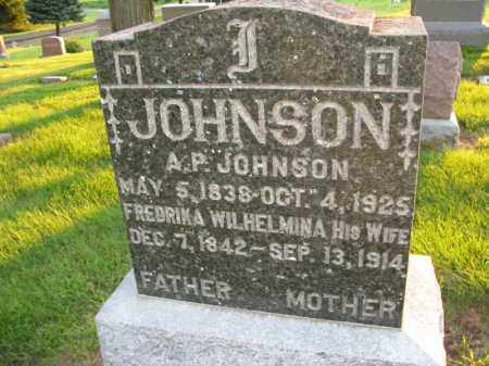 JOHNSON, A. P. - Burt County, Nebraska | A. P. JOHNSON - Nebraska Gravestone Photos