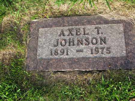 JOHNSON, AXEL T. - Burt County, Nebraska | AXEL T. JOHNSON - Nebraska Gravestone Photos