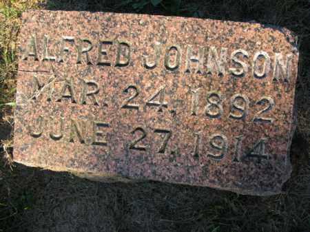 JOHNSON, ALFRED - Burt County, Nebraska | ALFRED JOHNSON - Nebraska Gravestone Photos