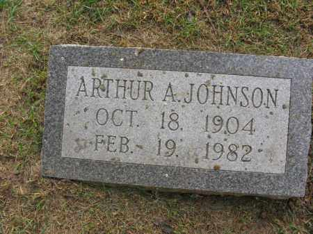 JOHNSON, ARTHUR A. - Burt County, Nebraska | ARTHUR A. JOHNSON - Nebraska Gravestone Photos