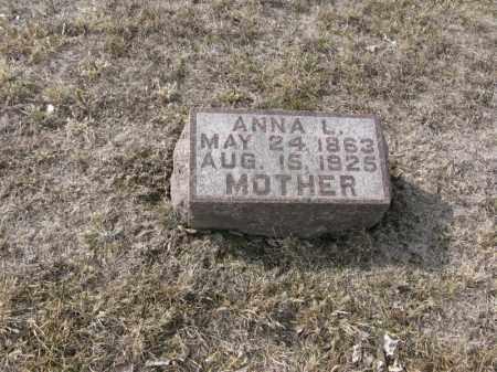 JOHNSON, ANNA L. - Burt County, Nebraska | ANNA L. JOHNSON - Nebraska Gravestone Photos