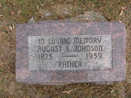 JOHNSON, AUGUST L. - Burt County, Nebraska | AUGUST L. JOHNSON - Nebraska Gravestone Photos