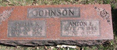 JOHNSON, EMELIA K. - Burt County, Nebraska   EMELIA K. JOHNSON - Nebraska Gravestone Photos
