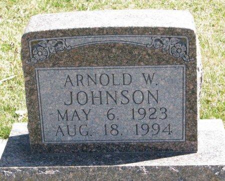 JOHNSON, ARNOLD W. - Burt County, Nebraska   ARNOLD W. JOHNSON - Nebraska Gravestone Photos