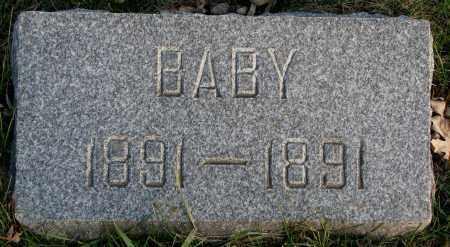 JOHNSON, BABY 1891 - Burt County, Nebraska   BABY 1891 JOHNSON - Nebraska Gravestone Photos