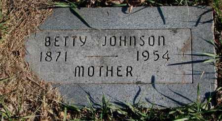 JOHNSON, BETTY - Burt County, Nebraska | BETTY JOHNSON - Nebraska Gravestone Photos