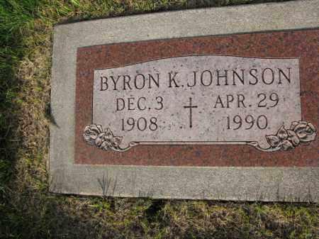 JOHNSON, BYRON K. - Burt County, Nebraska   BYRON K. JOHNSON - Nebraska Gravestone Photos