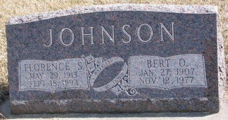 JOHNSON, FLORENCE S. - Burt County, Nebraska | FLORENCE S. JOHNSON - Nebraska Gravestone Photos