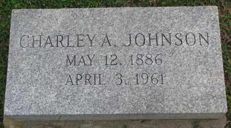 JOHNSON, CHARLEY A. - Burt County, Nebraska   CHARLEY A. JOHNSON - Nebraska Gravestone Photos