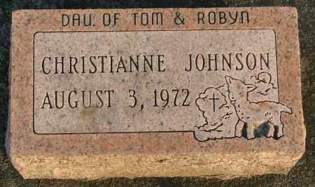 JOHNSON, CHRISTIANNE - Burt County, Nebraska | CHRISTIANNE JOHNSON - Nebraska Gravestone Photos