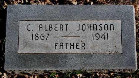 JOHNSON, C. ALBERT - Burt County, Nebraska | C. ALBERT JOHNSON - Nebraska Gravestone Photos