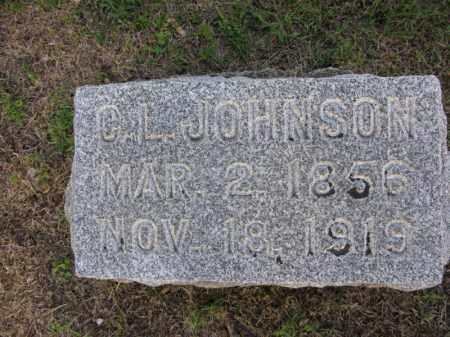 JOHNSON, C.L. - Burt County, Nebraska | C.L. JOHNSON - Nebraska Gravestone Photos