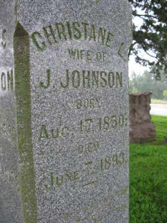 JOHNSON, CHRISTANE L. - Burt County, Nebraska | CHRISTANE L. JOHNSON - Nebraska Gravestone Photos