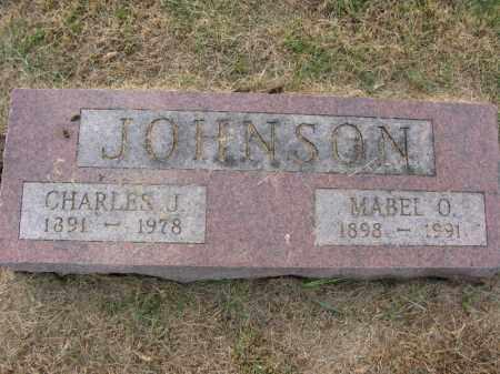 JOHNSON, MABEL O. - Burt County, Nebraska | MABEL O. JOHNSON - Nebraska Gravestone Photos