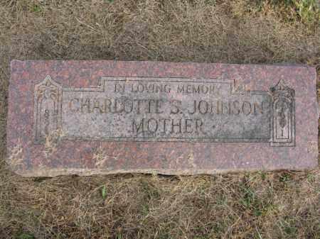 JOHNSON, CHARLOTTE S. - Burt County, Nebraska | CHARLOTTE S. JOHNSON - Nebraska Gravestone Photos
