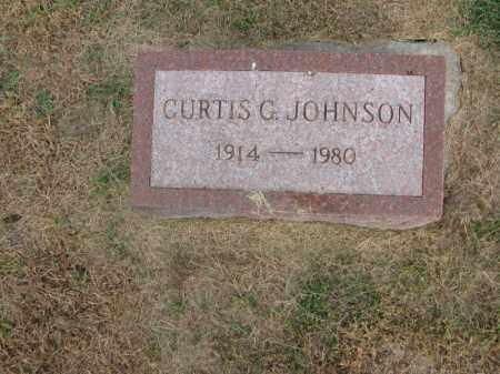 JOHNSON, CURTIS G. - Burt County, Nebraska | CURTIS G. JOHNSON - Nebraska Gravestone Photos